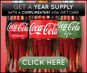 Win a Year of Coca-Cola