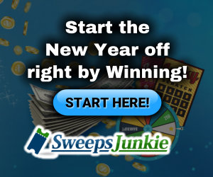 Sweeps Junkie New Year