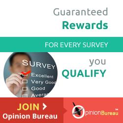 Opinion Bureau Paid Surveys - Free Signup