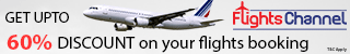 Get cheap flights with FlightsChannel! Easy Booking and 24/7 Customer Care