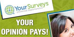 Your Surveys - Free Paid Surveys