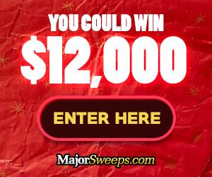 Major Sweeps - Win $12,000 Cash