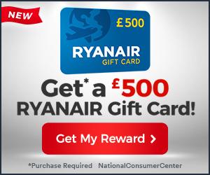 Take RyanAir Giftcard