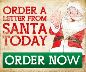 order a letter from santa today banner