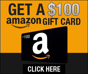 Get 100$ Amazon gift card