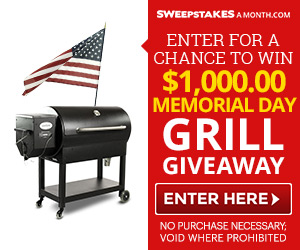 $1000 Memorial Day Grill!