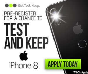 Test and Keep iPhone 8 - Just Free